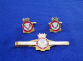 AIR TRAINING CORPS ( ATC ) CUFF LINK AND TIE GRIP / CLIP SET